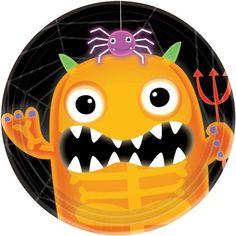 Boo Crew Halloween Dessert Plates (8 count)  Amazon.com