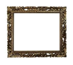 20x24 Shabby chic mirror frame rectangle gold mid by Fancydecor