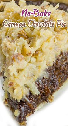 No-Bake German Chocolate Pie