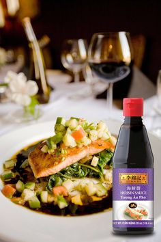 Hoisin Sauce can be used for all sorts of dishes and is tasty as glaze for baked salmon!