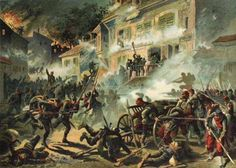 The Battle of Châteaudun was a highlight of the Franco-Prussian war of 1870.