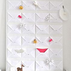 Advent Calendar with envelopes
