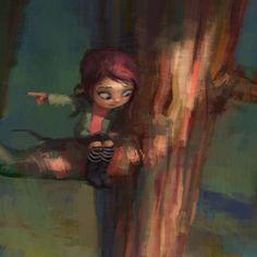 Zac Retz Art: Working on some things...