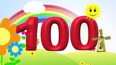 Zahlen lernen für Kinder - zählen von 10 bis 100 in 10er Schritten (deut...