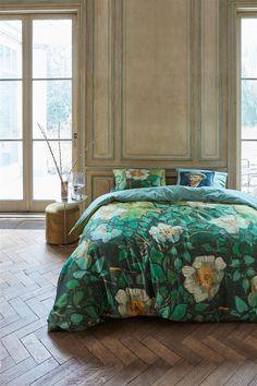 van Gogh - Wild Roses - Beddinghouse Marjolein Bastin, Van Gogh Museum, Comforters, Duvet Covers, Blanket, Bedroom, House, Green, Furniture