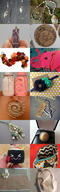 Monday Treasury! by Ashley Faulkingham on Etsy--Pinned with TreasuryPin.com