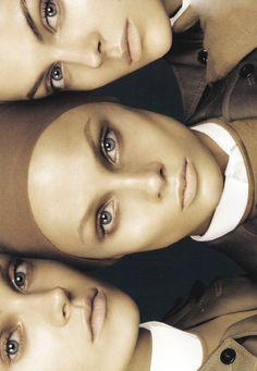 Viktoriya Sasonkina, Anna Selezneva & Anna Maria Jagodzinska/Vogue Italia By Steven Meisel