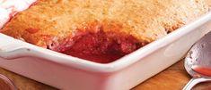 Pouding aux Fraises et Rhubarbe Mug Recipes, Dessert Recipes, Rhubarb Recipes, Let Them Eat Cake, Baked Goods, Food To Make, Sweet Treats, Deserts, Good Food