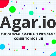 Agar.io is currently the most played online game today. Control your tiny cell and eat other players to grow larger! But watch out: players bigger than you will be trying to make you their lunch