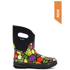 Bogs mid veggie garden boots