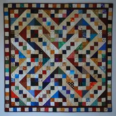 Also on short list- Moore About Nancy: Jacob's Ladder quilt block