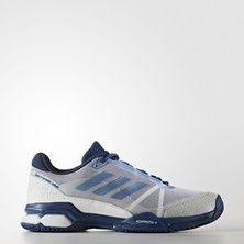 buy online 8cc94 e764e Adidas Barricade Club Men s Tennis Shoes White Blue Squash Rackets, Adidas  Barricade, Adidas Men