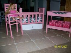 Diy Doll Crib Cute And Easy Share Your Craft Baby