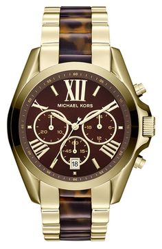 Michael Kors 'Bradshaw' Chronograph Bracelet Watch available at #Nordstrom