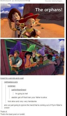 When they discovered that this line had a hell of a lot of meaning for the rest of Disney. | 31 Times Tumblr Had Serious Questions About Disney