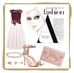 """""""Sem título #48"""" by emiliamm on Polyvore featuring moda, Ted Baker, Cartier e Gianvito Rossi"""
