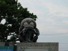 IMAGES OF MIZUKI SHIGERU ROAD | ... slightly creepy) statues line the Mizuki Shigeru road in Sakaiminato