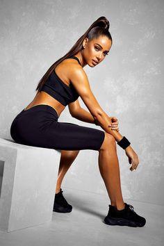 Womens Fit Basic Mesh Panel High Waisted Legging Black