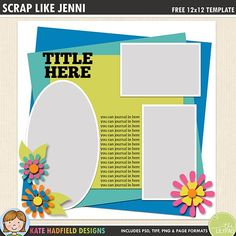 639 Best Free Digital Scrapbook Templates Images In 2019 Digital