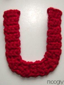 The Moogly Crochet Alphabet - free patterns! #crochet