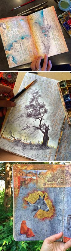 Inside the Well-Traveled Sketchbooks of Artist Dina Brodsky. This is incredible.