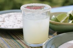 Perfect margarita made with 100 percent agave tequila:  high-quality Cuervo 1800, Patrón Silver, Herradura, or Don Julio.