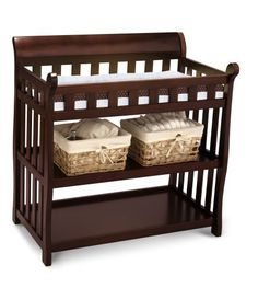 Delta Eclipse Changing Table, Black Cherry from http://fortoddlers.net/changing-tables/delta-eclipse-changing-table-black-cherry/