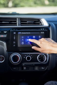 The Honda Fit's available 7-inch Display Audio helps make every errand an adventure.