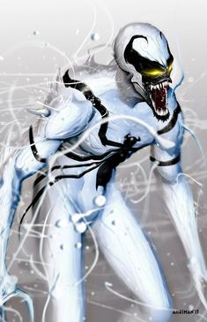 #Anti #Venom #Fan #Art. (Anti-Venom) By: Ahrrr. (THE * 5 * STÅR * ÅWARD * OF: * AW YEAH, IT'S MAJOR ÅWESOMENESS!!!™)[THANK U 4 PINNING!!!<·><]<©>ÅÅÅ+(OB4E)