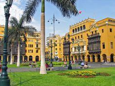 Los balcones de Lima