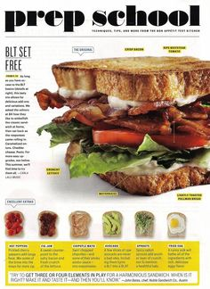 from Bon Appetit magazine