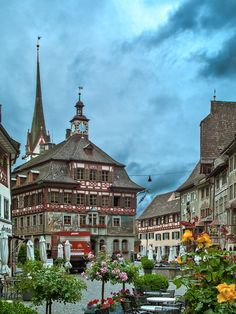 All things Europe — Stein am Rhein, Switzerland (by HPollmeier)