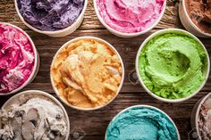 ice cream display - Google Search