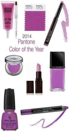 Pantone Color of the Year 2014: Radiant Orchid Beauty Buys need this for work