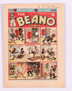Spring 2017 Comic Book Market Report - Compalcomics.com  Illustrated above are two issues from our high grade Beano Comic run 164-167, all offered separately, all selling for £270 each.