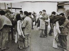Annie Leibovitz - Christmas, 1971, Soledad Prison, California