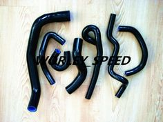 BLACK Silicone Radiator heater hose kit For Nissan skyline R33 R34 GTR RB26DET