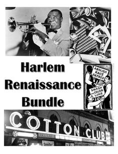 an analysis of harlem renaissance Langston hughes was a successful african-american poet of the harlem renaissance in the 20th century hughes' had a simple and cultured writing style harlem is filled with rhythm, jazz, blues, imagery, and evokes vivid images within the mind.