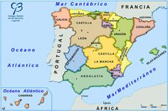 Comunidades Autónomas de España. Mapas y actividades interactivas