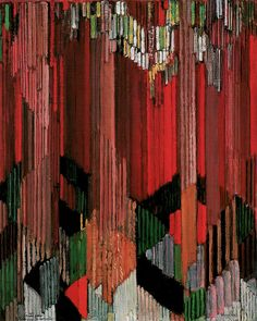 """""""Study for Language of Verticals"""" by Frantisek Kupka 1911. Art Experience NYC www.artexperiencenyc.com"""
