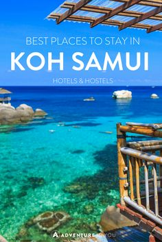 Looking for the best place to stay while in Koh Samui, Thailand? Here are our recommendations