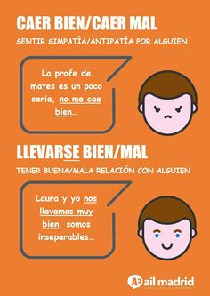 Spanish Language School in Madrid Spanish Notes, Spanish Basics, Spanish Phrases, Ap Spanish, Spanish Lessons, Spanish Tenses, Spanish Grammar, Teaching Spanish, Learn To Speak Spanish