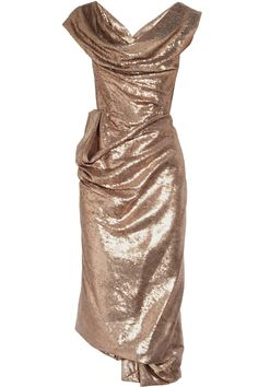 VIVIENNE WESTWOOD GOLD LABEL Paillette-embellished corset dress i've always been madly in love with this dress