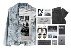 """""""#57"""" by more-unicorns ❤ liked on Polyvore featuring moda, Nudie Jeans Co., Converse, Patagonia, Topshop, ASOS, rock, grunge, softgrunge e falloutboy"""