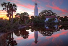 I have been there!  St.Marks Lighthouse near Tallahassee, Florida  It is beautiful and close to my home!
