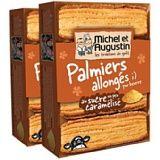 Michel et Augustin Palmiers allongés pur beurre aux sucre un peu caramélisé 120g Lot de 2