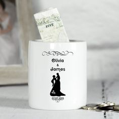 Shop Now! Personalised Cera... http://www.blueponystyle.com/products/copy-of-personalised-ceramic-wedding-money-box-classic-frame-design-for-couple?utm_campaign=social_autopilot&utm_source=pin&utm_medium=pin #etsymntt #EtsySocial #ESLiving #EpicOnEtsy #etsyretwt #gift #ATSocialUK #shopifypicks