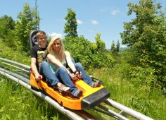 Smoky Mountain Alpine Coaster - Family trip to Gatlinburg, TN should happen in the next year or two and we will definitely be doing this!