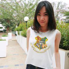 Hogwart logo Harry potter - Tank top,Tank shirt,T-shirt,Crop tank,Cute shirt,Women shirt,Girl shirt,Harry potter tank top,Harry potter shirt
