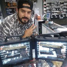 Around AirSplat HQ? Stop by our Los Angeles location to touch and feel the WE Engraved G-Series Pistols! Like & Share! http://www.airsplat.com/G18-G19-Airsoft-Guns.htm AirSplat HQ 3809 Durbin St., Irwindale, CA 91706